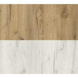 Dřevěná skříňka v provedení dub divoký typ K2 KN062