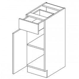 Skříňka dolní 30cm ALINA D30S/1 levá