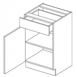 Skříňka dolní OLIWIA D60 S/1 levá