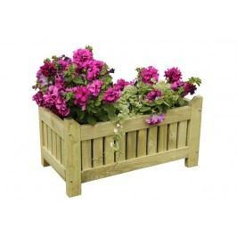 Dřevěný květináč AOSTA