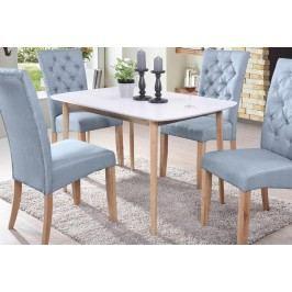 Moderní jídelní stůl v bílé barvě KN426