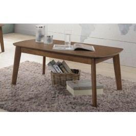 Klasický konferenční stolek ve světle ořechové barvě KN431