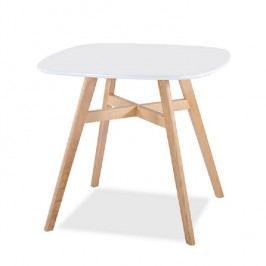 Jídelní stůl 80x75cm z masivního dřeva TK2097