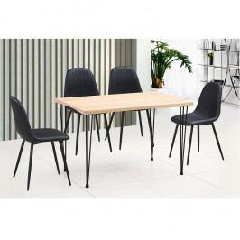 Jídelní stůl 120x76cm ve světlém buku TK2101