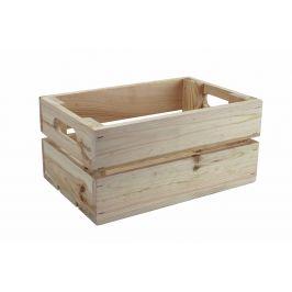 Asko Dřevěná bedýnka přírodní 30x20 cm