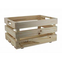 Asko Dřevěná bedýnka přírodní 40x30 cm