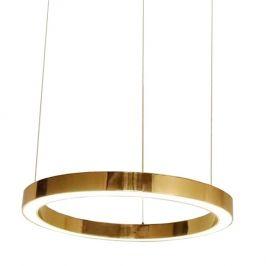 Culty Gold Mosazné závěsné světlo Edeon 40 cm