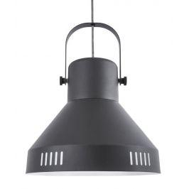 Time for home Černé kovové závěsné světlo Kin