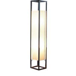 Moebel Living Chromovaná stojací lampa Apoteka 120 cm