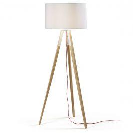 Stojací lampa ze dřeva LaForma Uzagi