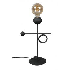Černá kovová stolní lampa DUTCHBONE Loyd