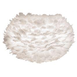 UMAGE Bílé závěsné světlo Eos Medium z pravých husích per Ø 45 cm