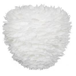 UMAGE Bílé závěsné světlo Eos Evia Medium z pravých husích per Ø 40 cm
