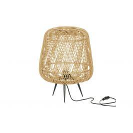 Hoorns Přírodní bambusová stolní lampa Bamboo 48 cm