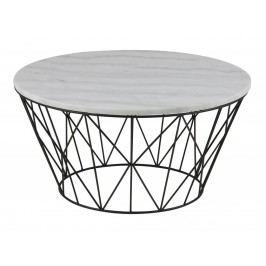 Konferenční stolek Marila, mramor, 40 x 80 cm SCHDNH000018048 SCANDI
