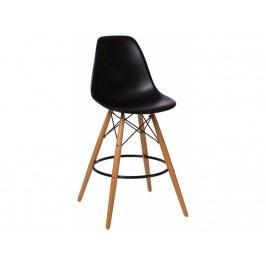 Designová barová židle DSW, černá - výprodej S84942 CULTY +