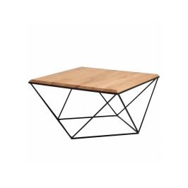 Konferenční stolek Deryl dub, 80 x 80 cm Nordic:57232 Nordic