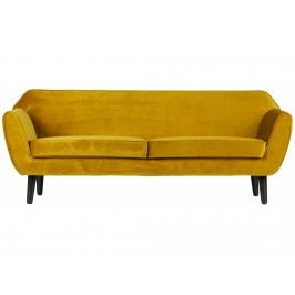 Designová pohovka Sanba, okrová dee:340451-O Hoorns