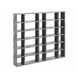 Designová knihovna Manoel IV. (Beton)  9500.515934 Porto Deco