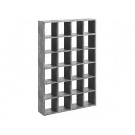 Designová knihovna Manoel I. (Beton)  9500.510403 Porto Deco