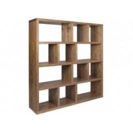 Designová knihovna Castelo 4, 150 cm (Ořech)  9500.320736 Porto Deco