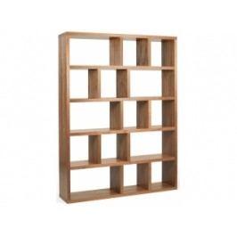Designová knihovna Castelo 5, 150 cm (Ořech)  9500.320729 Porto Deco