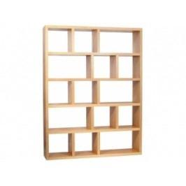 Designová knihovna Castelo 5, 150 cm (Dub)  9500.320729 Porto Deco