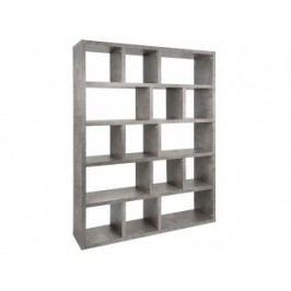 Designová knihovna Castelo 5, 150 cm (Beton)  9500.320729 Porto Deco