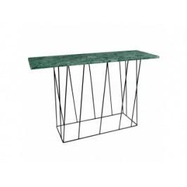 Toaletní stolek Rofus, mramor (Zelená, černá podnož)  9500.627460 Porto Deco