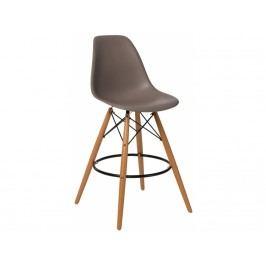 Designová barová židle DSW, šedá 84960 CULTY
