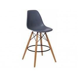 Designová barová židle DSW, tmavě šedá 84948 CULTY