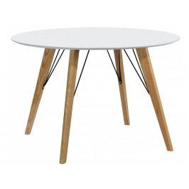 Jídelní stůl Brie 100 cm, bílá S9920 Culty Gold +