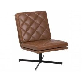 Židle Major, hnědá/černá SCHDN0000068922 SCANDI