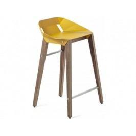 Barová židle Tabanda DIAGO, 62cm, ořechová podnož (RAL1004)  diago62orech Tabanda