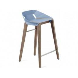 Barová židle Tabanda DIAGO, 62cm, ořechová podnož (RAL5024)  diago62orech Tabanda