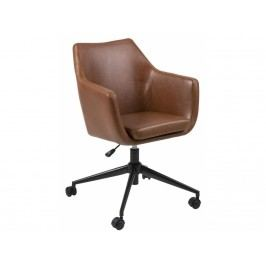 Kancelářská židle Marte, hnědá SCHDN0000068057 SCANDI
