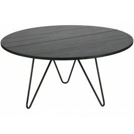 Kulatý jídelní stůl Kosmos 150 cm, černá dee:387662-BN Hoorns