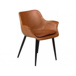 Židle DanForm Combino, světle hnědá ekokůže DF100690891 DAN FORM