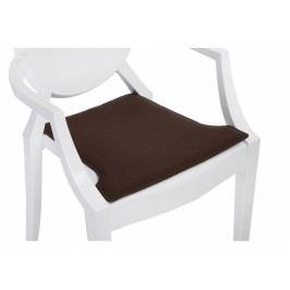 Podsedák na židli Ghost, tmavě hnědá 78731 CULTY