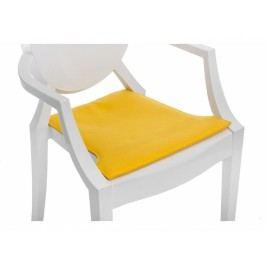 Podsedák na židli Ghost, žlutá 78703 CULTY