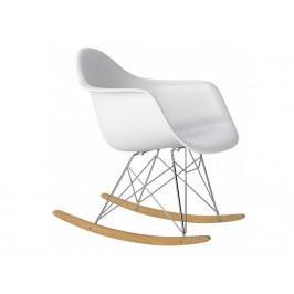 Designové houpací křeslo RAR, bílá S62488 CULTY +