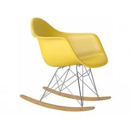 Designové houpací křeslo RAR, žlutá S62528 CULTY +