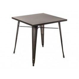 Jídelní stůl Tolix 76x76, metalická 72918 CULTY