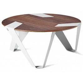 Designový stůl Tabanda Mobiush, bílý, ořech, 75 cm mobiush03 Tabanda