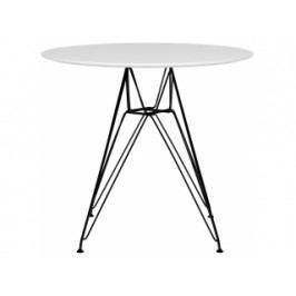 Designový jídelní stůl DSR 80 cm, bílá (RAL 9005)  SXWD-Y80 Culty Gold +