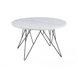 Konferenční stolek Stark, 80 cm, mramor SCHDNH000015402 SCANDI