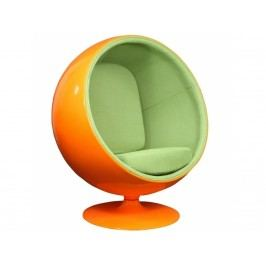 Designové křesílko Ball Chair, oranžovo/zelené BALL_78 CULTY +
