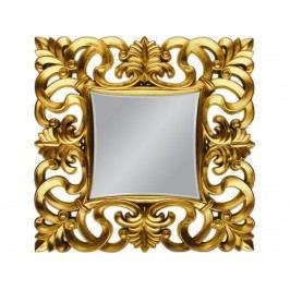 Závěsné zrcadlo Santo 76x76, zlatá - výprodej S70607 CULTY +