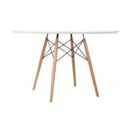Jídelní stůl DSW průměr 120 cm, bílá 64173 CULTY