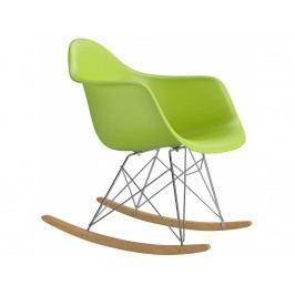Designové houpací křeslo RAR, zelená Srar077010 CULTY +